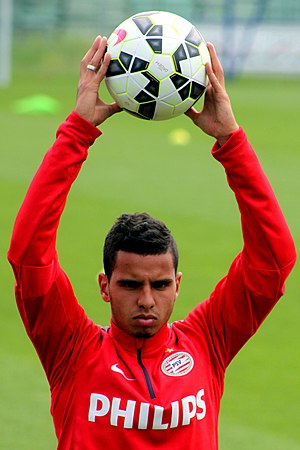 Adam Maher - Maher at PSV in July 2014