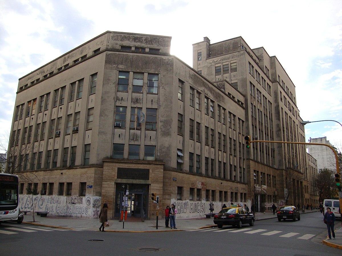 Facultad De Medicina  UBA Image: Wikipedia, La Enciclopedia Libre