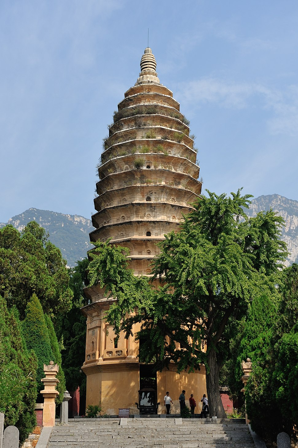 Pagoda of Songyue Temple, 2015-09-25 20