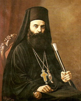 Painting of bishop Athenagoras by Andreas Vranas in 1927.jpg