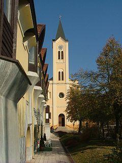 Paks Town in Tolna, Hungary