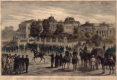 Резултат с изображение за Александър I Батенберг да се откаже от престола.