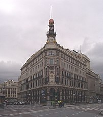 Palacio de la Equitativa, in Madrid (Spain). F...