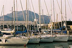 Mount Pellegrino - Palermo Harbor with Mount Pellegrino.