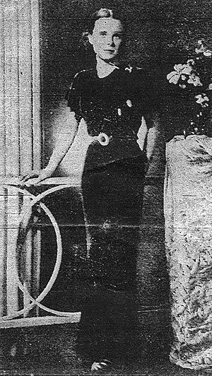 Murder of Pamela Werner - Studio photograph of Pamela Werner taken in 1936, a month before her death