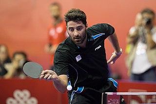 Panagiotis Gionis Table tennis player and dentist