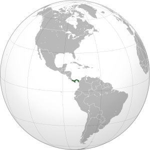 Panama (orthographic projection).svg