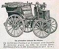 Panhard 4 hp 1895, vainqueur de Bordeaux-Paris-Bordeaux avec Émile Levassor.jpg