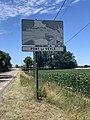 Panneau H33 Pont Veyle Route Mâcon St Cyr Menthon 2.jpg