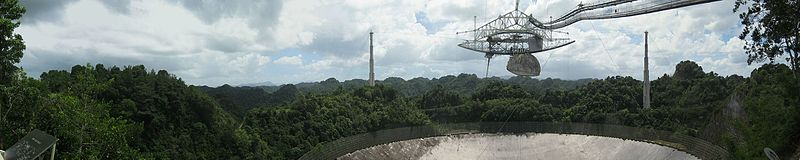 Panorama arecibo telescope from observation deck.jpg