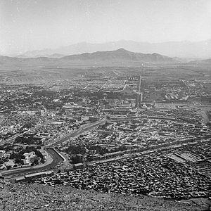 Panorama miasta - Kabul - 001098n