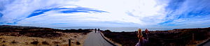 Crystal Cove State Park - Image: Panorama of Crystal Cove Coast