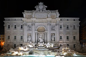 Panorama of Trevi fountain 2015.jpg