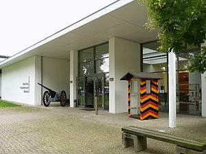 German Tank Museum - Museum Entrance (2011)