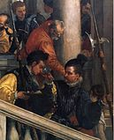 Paolo Veronese - Feast in the House of Levi (detail) - WGA24883.jpg