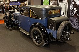 Paris - Retromobile 2012 - Bentley Speed six - 1929 - 004.jpg