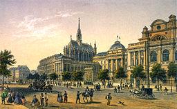 Paris - Vue du Palais de Justice