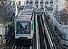 Paris Metro Line 6 train northeast of Pasteur station 140207 5.jpg