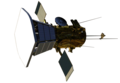 Parker Solar Probe spacecraft model.png