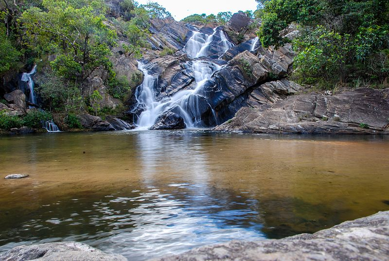 Cachoeira dos Pireneus em Goiás