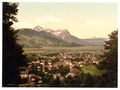 Partenkirchen, general view, Upper Bavaria, Germany-LCCN2002696274.tif