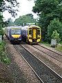 Passing trains - geograph.org.uk - 900824.jpg