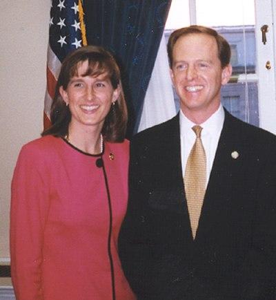 Pat and Kris Toomey1999