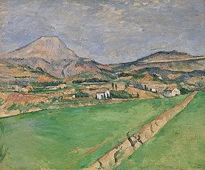 Toward Mont Sainte-Victoire (Vers la Montagne Sainte-Victoire)