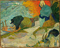 Paul Gauguin - Laveuses à Arles (Washerwomen in Arles) - Google Art Project.jpg