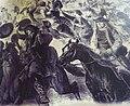Paysans bretons applaudissant leurs majestés impériales.JPG