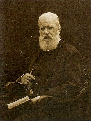 Emperor Pedro II of Brazil, 1887.