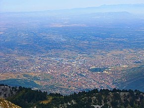 Peja from Veljak Peak -2014 m alt.JPG