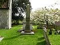 Penton Mewsey - Holy Trinity Church Obelisk - geograph.org.uk - 794690.jpg