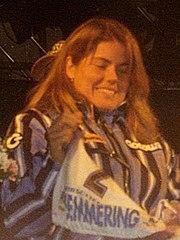 Pernilla Wiberg im Dezember 1996