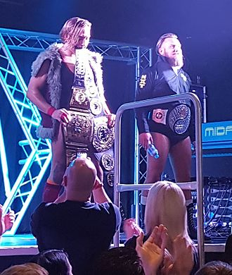 British Strong Style - Pete Dunne (left) and Trent Seven (right), who formed the group in July 2016
