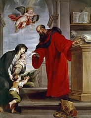 Saint Ives of Treguier, Patron of Lawyers, Defender of  Widows and Orphans