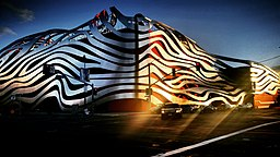 Petersen Automotive Museum Landscape Photo by Socialbilitty