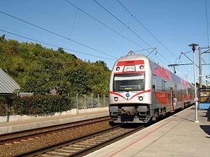 Lithuanian Railways - Škoda EJ575 at Kaunas Railway Station