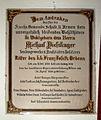 Pfarrkirche Unbefleckte Empfängnis Mariä, Steyrling, plaque2.jpg