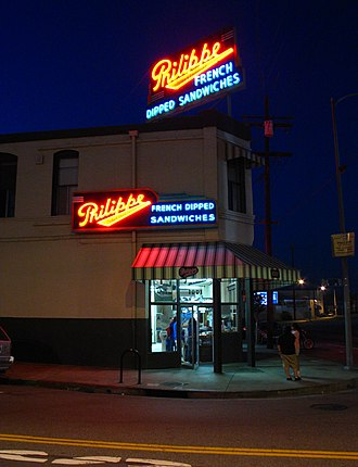 Philippe's - Neon lights aglow