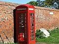 Phone Box, otherwise knows as a Little Red Lavatory - geograph.org.uk - 1273105.jpg