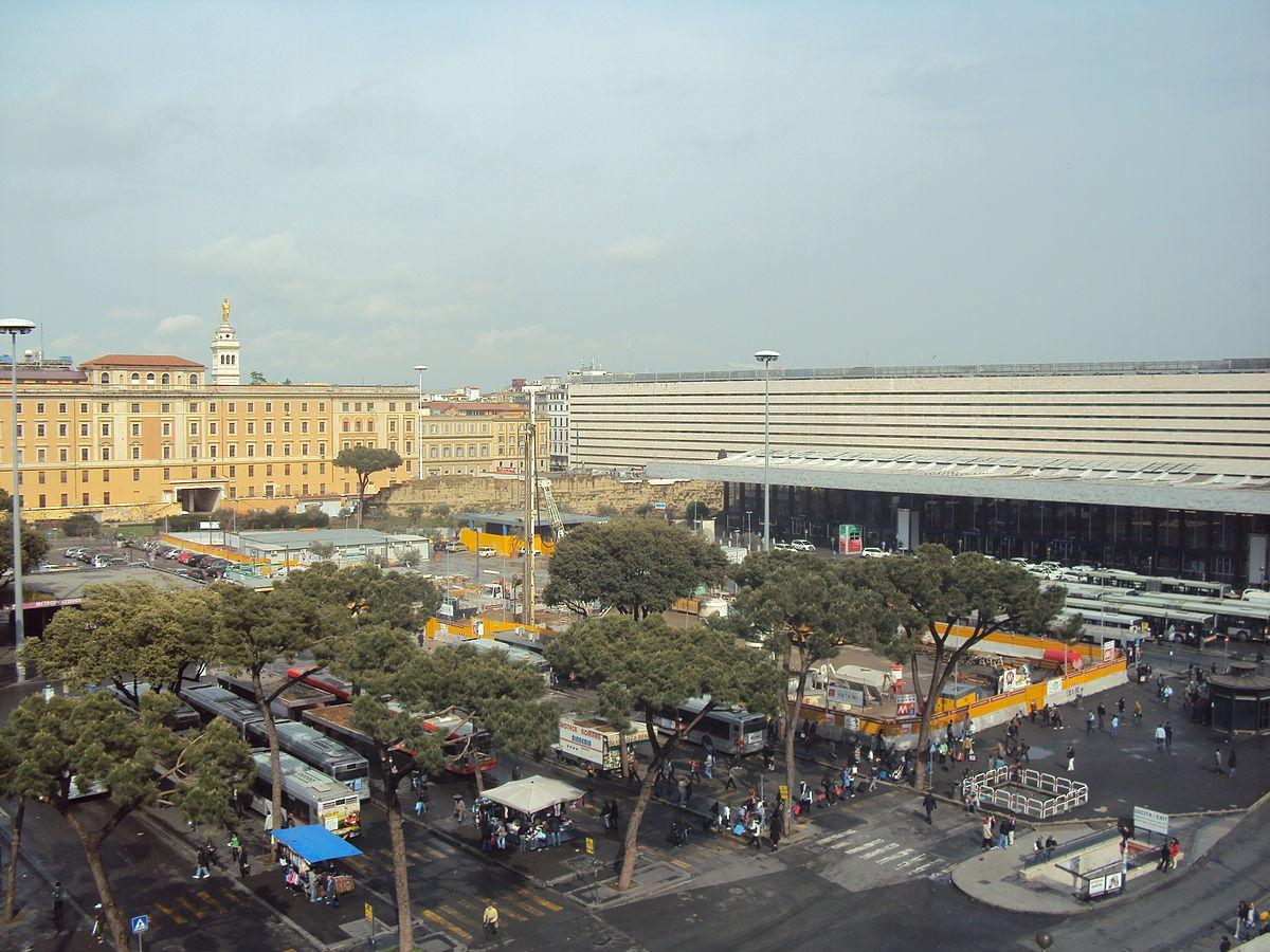 Estaci n de roma termini wikipedia la enciclopedia libre for Affitto ufficio roma stazione termini