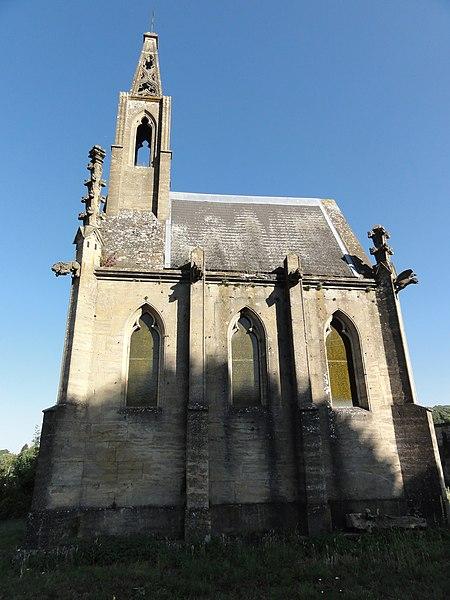 Pierrepont (Meurthe-et-M.) Chapelle funéraire famille Seillière