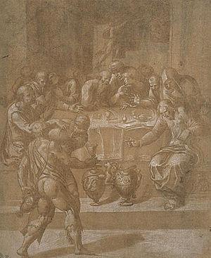 Pietro Negroni - Marriage at Cana, Musée des Beaux-Arts, Rennes