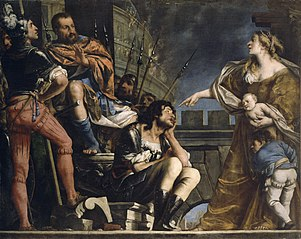 Haasdrubal's Wife Denouncing her Husband before Scipio Africanus