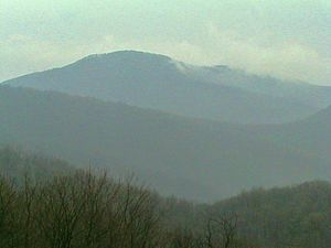Pignut Mountain - View of Pignut Mountain from nearby Neighbor Mountain