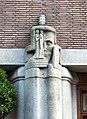Pilaster Ornament1 Hildo Krop Prinsenhof Stadhuis Voorburgwal Amsterdam.JPG