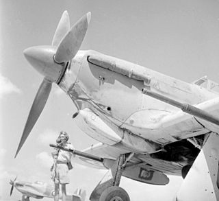Vickers S 40 mm gound attack aircraft cannon