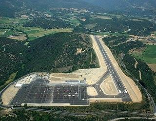 airport in Montferrer i Castellbò, Spain