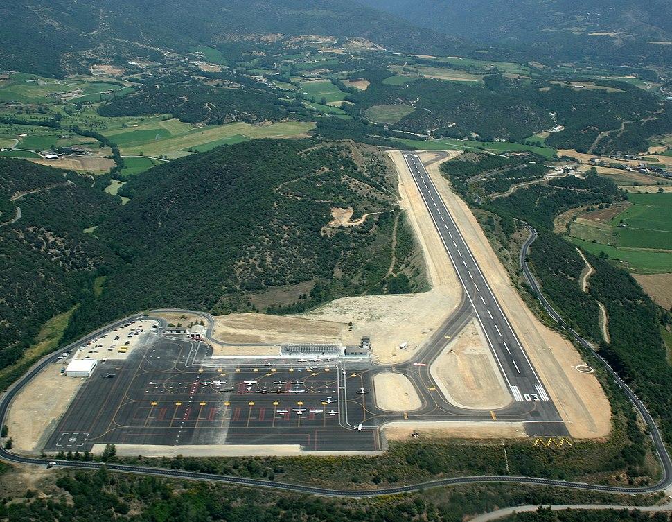 Pirineus - la Seu d'Urgell airport